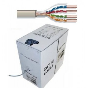 Bobina de cable flexible UTP RJ-45 Cat.6